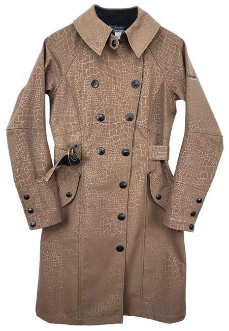 Item - Brown Titanium Omnishield Coat Size 8 (M)