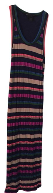 Multi Color Maxi Dress by Marc Jacobs Midi Sundress Neon