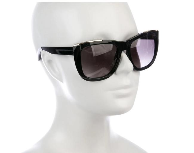 Item - Black Square Tinted Sunglasses