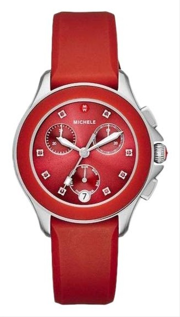 Item - Red / Silver ** Flash-sale 10%** Cape Chrono Sunray Dial Mww27c000004 Watch
