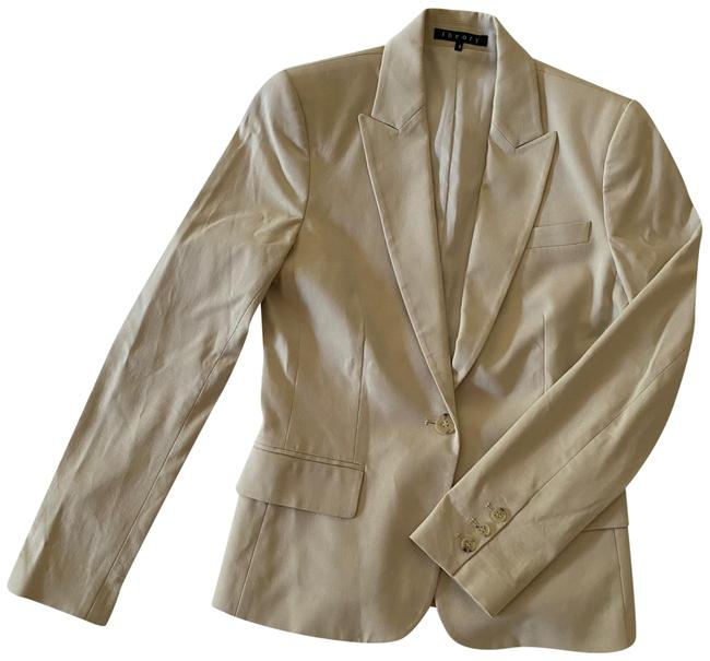Theory Beige Pant Suit Size 4 (S) Theory Beige Pant Suit Size 4 (S) Image 1