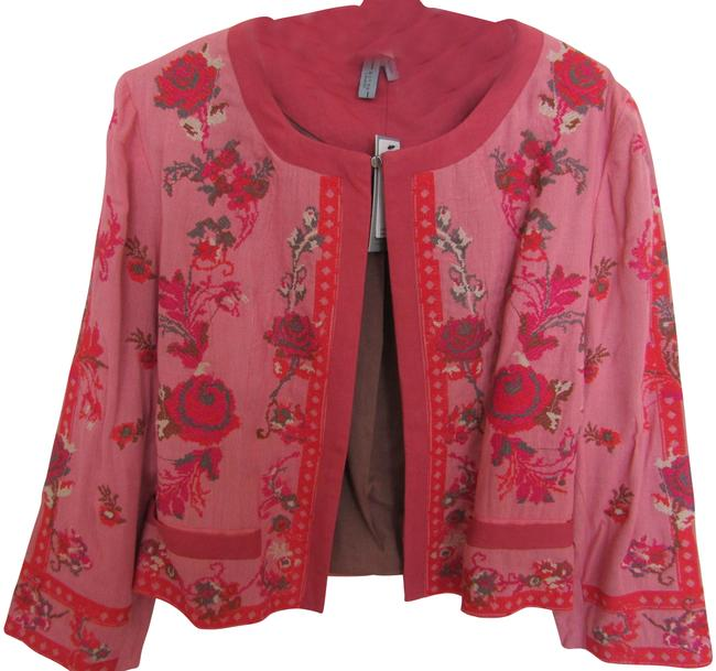 Item - Rose Embroidered Jacket Color Blazer Size 8 (M)