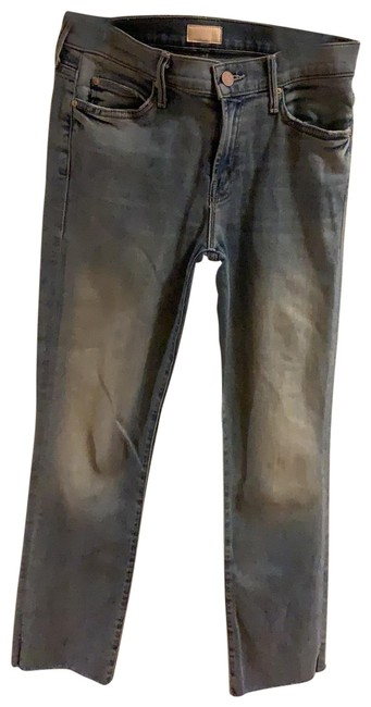 Item - Distressed Rascal Ankle Snippet Capri/Cropped Jeans Size 4 (S, 27)