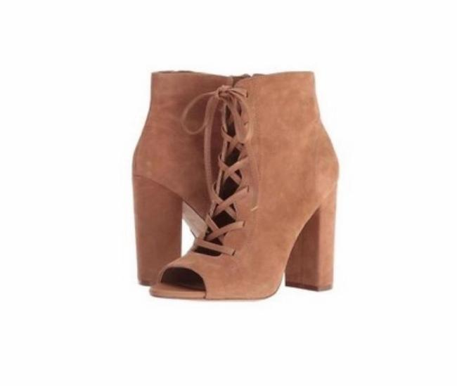 Item - Tan Yvie Ankle Lace-up Boots/Booties Size US 6 Regular (M, B)