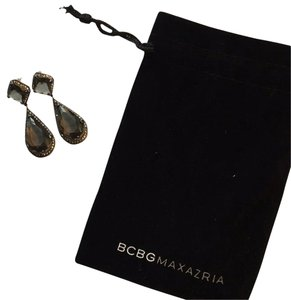 BCBGMAXAZRIA BCBG Drop Pave Earrings