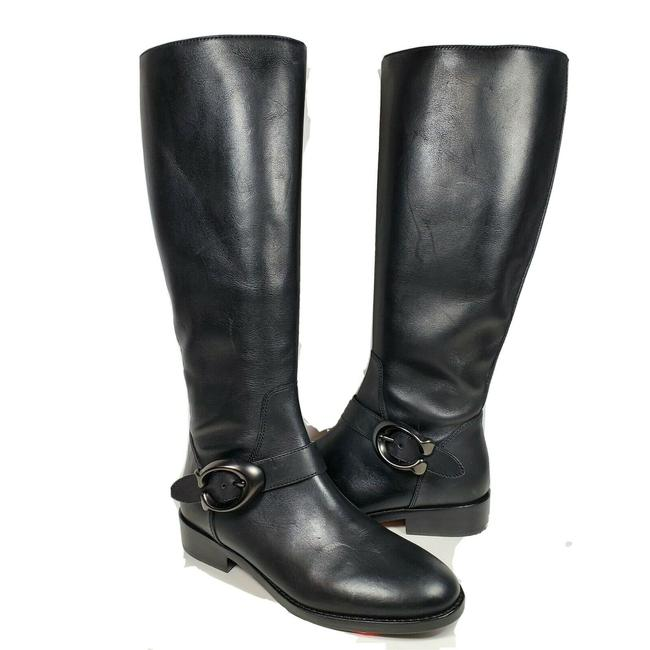 Item - Black G-3102 Riding Leather Boots/Booties Size US 6 Regular (M, B)