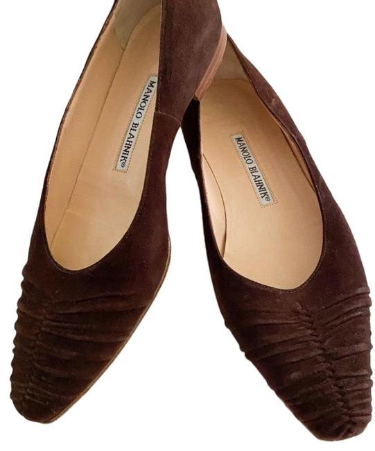 Item - Brown Elegant // Flats Size US 6.5 Regular (M, B)