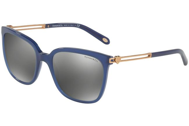 Item - Blue and Rose Gold Tf4138 8192/6g 54mm Hearts Collection Italy Sunglasses