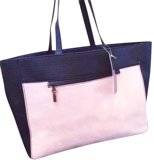 Preload https://item4.tradesy.com/images/french-connection-tote-bag-dusty-pink-and-black-2840323-0-0.jpg?width=440&height=440