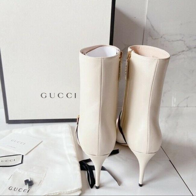 Gucci White Sylvie Boots/Booties Size US 11.5 Regular (M, B) Gucci White Sylvie Boots/Booties Size US 11.5 Regular (M, B) Image 4