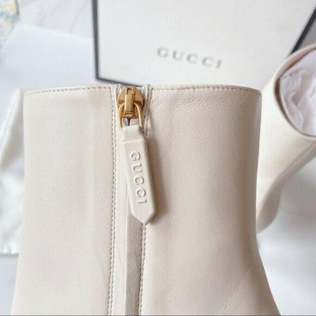 Gucci White Sylvie Boots/Booties Size US 11.5 Regular (M, B) Gucci White Sylvie Boots/Booties Size US 11.5 Regular (M, B) Image 6