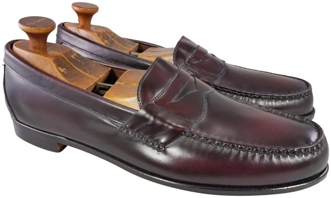 Allen Edmonds Burgundy Walden Men Penny Loafers New D Formal Shoes Size US 13 Regular (M, B) Allen Edmonds Burgundy Walden Men Penny Loafers New D Formal Shoes Size US 13 Regular (M, B) Image 1
