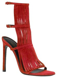 Gucci Women Heels Becky red Sandals