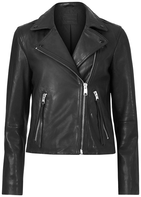 Item - Black with Tag Dalby Leather Biker Jacket Size 2 (XS)