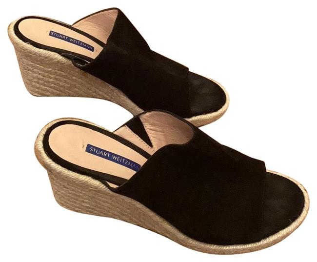 Item - Black Espadrilles Sandals Size US 10 Regular (M, B)