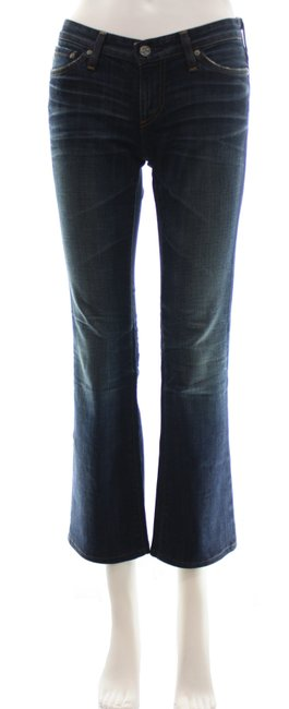 Item - Blue Dark Rinse Angelina Petite Boot Cut Jeans Size 25 (2, XS)