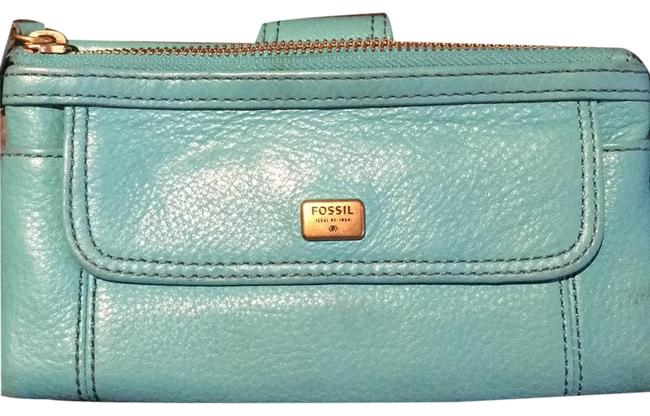 Item - Issue #1954 Turquoise Leather Clutch