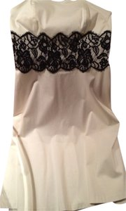 Black and White House short dress White on Tradesy