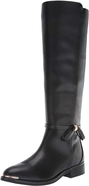 Item - Black Margaux Lether Knee High Riding Boots/Booties Size US 8 Regular (M, B)