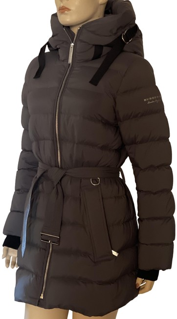 Item - Grey Limehouse Down Puffer Coat Size 8 (M)