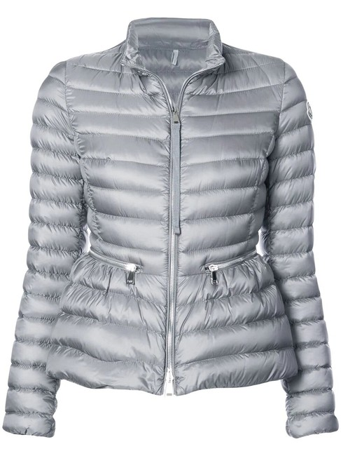 Item - Gray Agate Short Quilted Puffer Jacket Size 16 (XL, Plus 0x)
