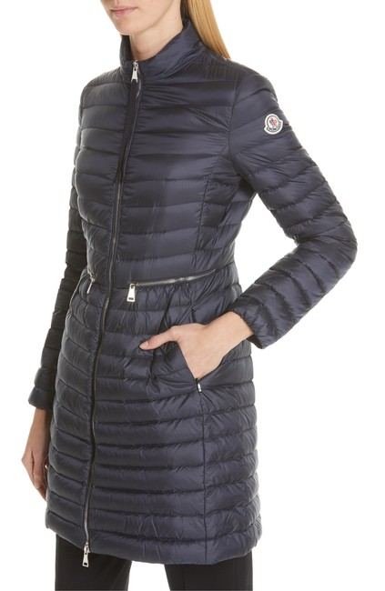 Item - Navy Agatelon Lightweight Down Quilted Coat Size 2 (XS)