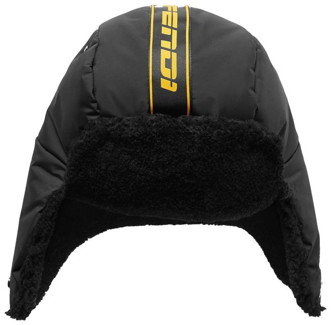 Item - Black Shearling-trimmed Shell Size Small Hat