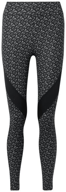 Item - Dark Gray Paneled Printed Stretch Leggings Pants Size 00 (XXS, 24)