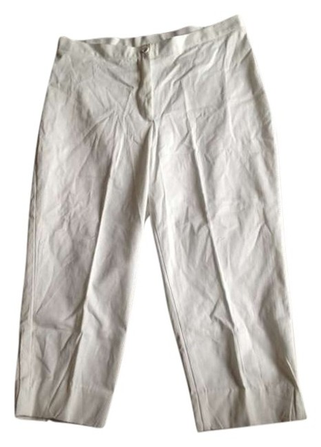 Renee Adams Capris White