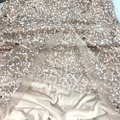 Adrianna Papell Rose Gold Cowl Draped Back Sequin Ornate Gown Long Cocktail Dress Size 4 (S) Adrianna Papell Rose Gold Cowl Draped Back Sequin Ornate Gown Long Cocktail Dress Size 4 (S) Image 11