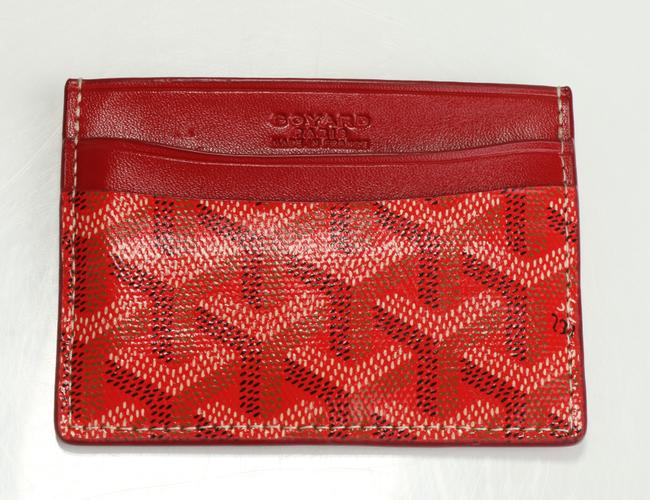 Item - Red Saint Sulpice Card Holder Men's Jewelry/Accessory