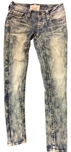 Big Star Skinny Jeans-Acid