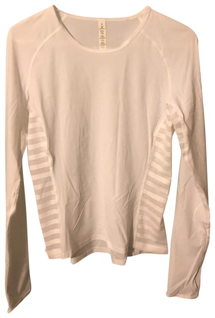 Item - White See All Ways Activewear Top Size 8 (M)