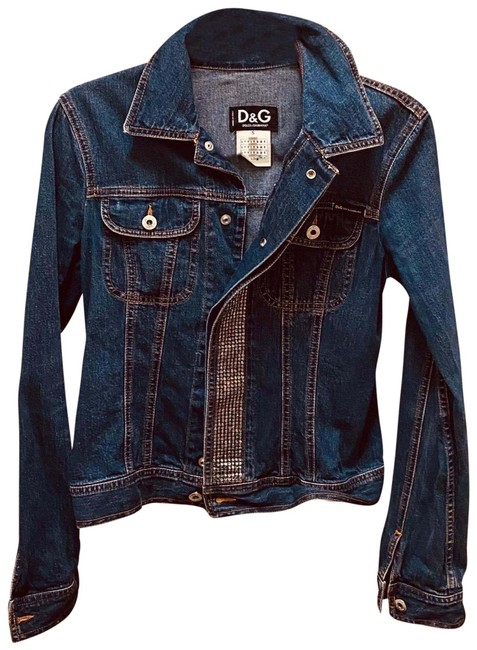 Item - Blue D & G Jacket Size 4 (S)