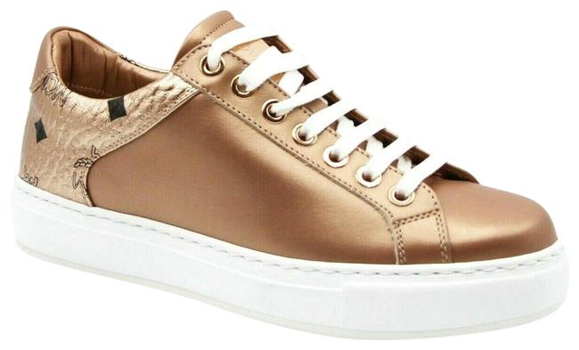 Item - Rose Gold Women's Leather Low-top 38/Us Mes9amm00tc Sneakers Size US 8 Regular (M, B)