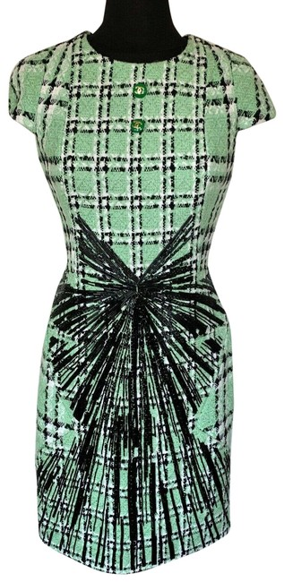 Item - Multicolor Mid-length Night Out Dress Size 4 (S)