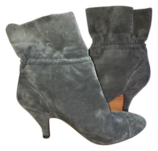 Item - Gray Suede Ankle Boots/Booties Size US 7.5 Regular (M, B)