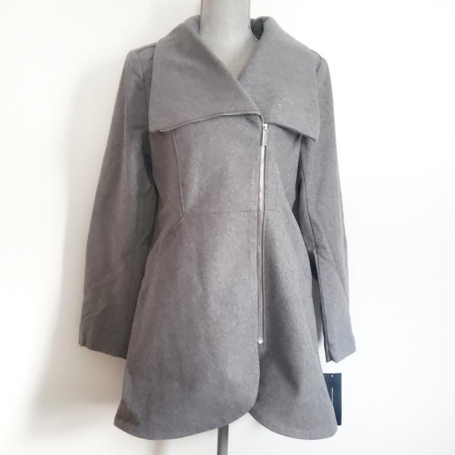 Item - Grey Tulip Coat Size 8 (M)