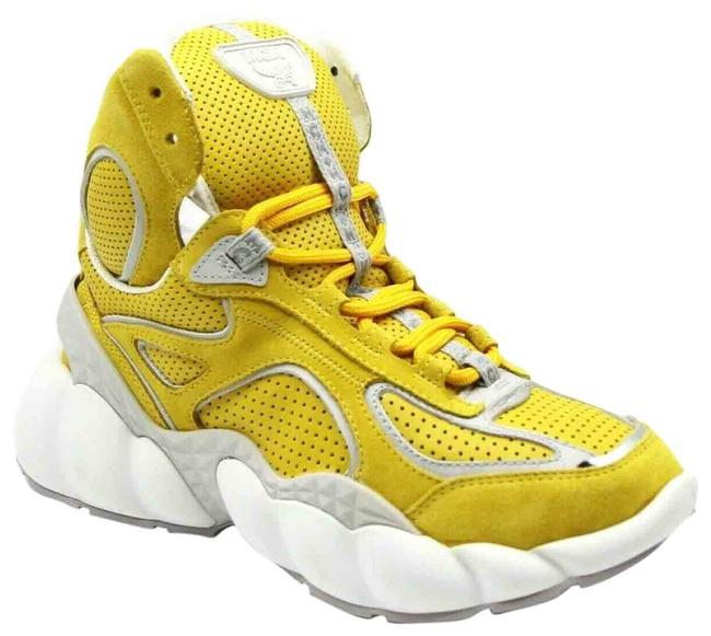 Item - Yellow Women Suede Hi-top 36/Us Mes9snx02yw Sneakers Size US 6 Regular (M, B)