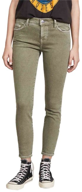 Item - Covert Green Medium Wash The Stiletto Skinny Jeans Size 4 (S, 27)