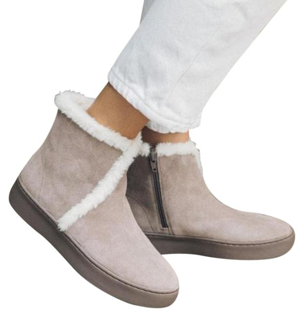 Item - Gray Soludos Whistler Cozy Faux Fur Boots/Booties Size US 8.5 Regular (M, B)