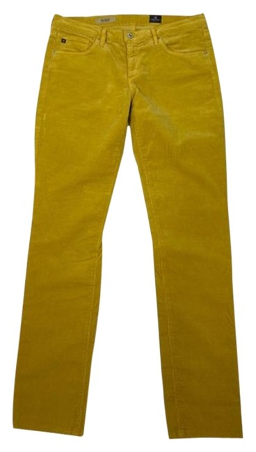 Item - Yellow The Stevie Slim Pants Size 8 (M, 29, 30)