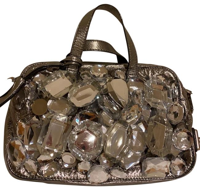 Item - C371128 Style Silver Goat Leather Satchel