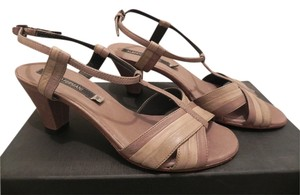 Alberto Fermani Multicolor/Tan Sandals