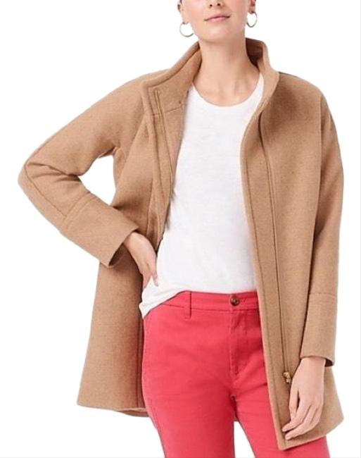 Item - Camel New City Wool Blend Coat Size 12 (L)