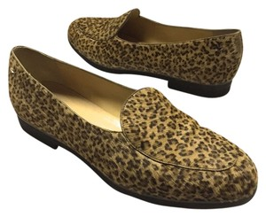 Bottega Veneta Pony Hair Loafer Brown Flats