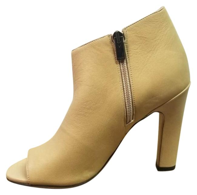 Item - Tan Nude Ankle Bootie Sneakers Size EU 38.5 (Approx. US 8.5) Regular (M, B)