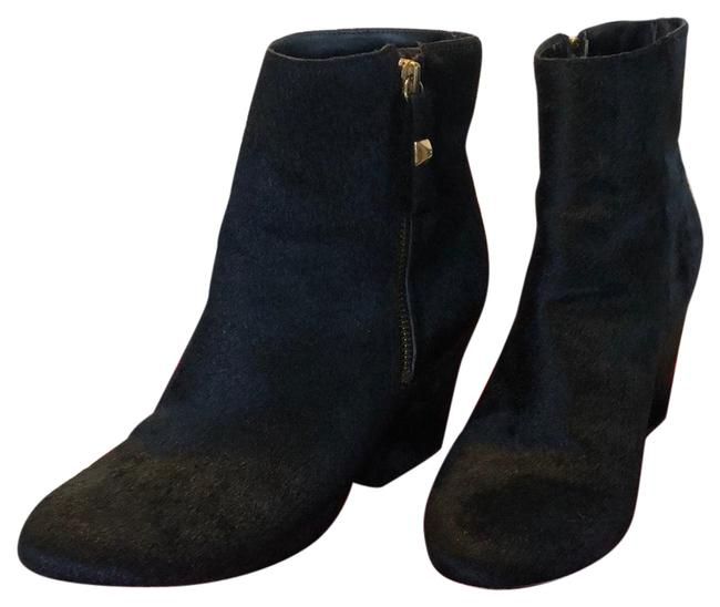 Item - Black Calf Hair Excellent Condition Boots/Booties Size US 7 Regular (M, B)