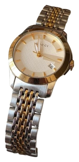 Item - Silver and Gold Womens's Wrist Watch
