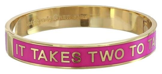 Preload https://item2.tradesy.com/images/kate-spade-pink-and-gold-new-york-idiom-hinged-bangle-bracelet-2841556-0-0.jpg?width=440&height=440